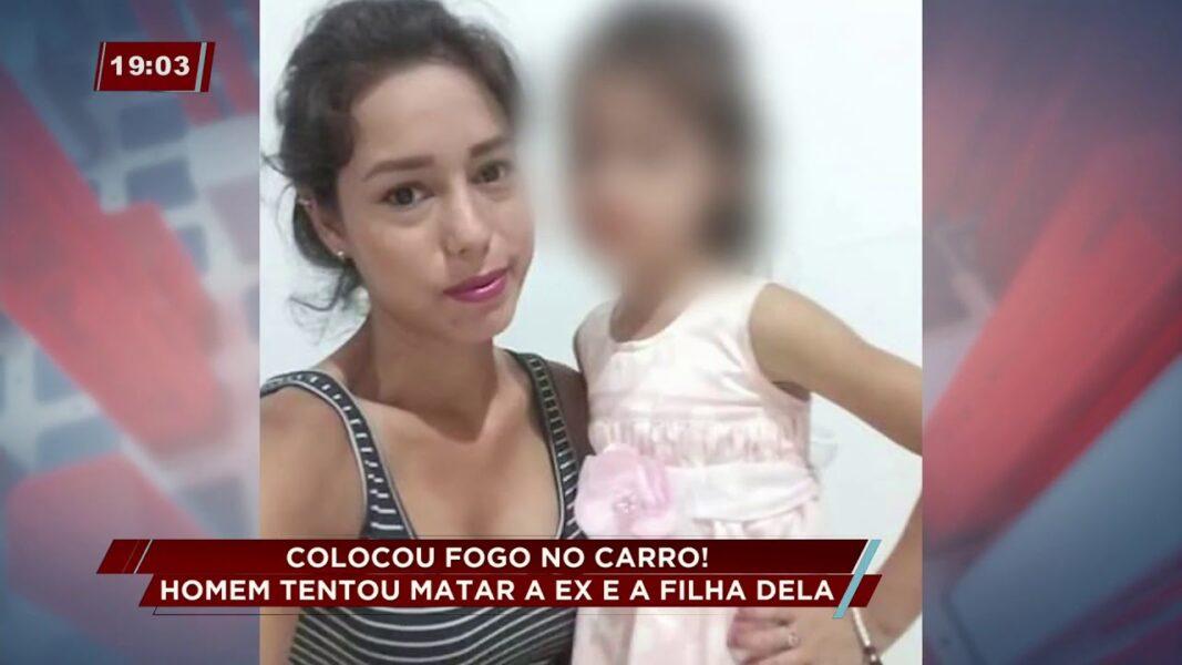 Homem é preso suspeito de tentar matar ex-namorada e filha em Turvo