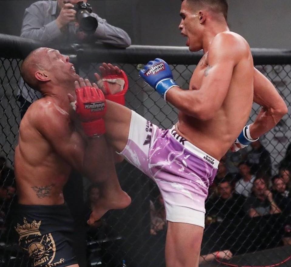 A 1º edição do Katana Fight aconteceu em 2016. (Foto: divulgação)
