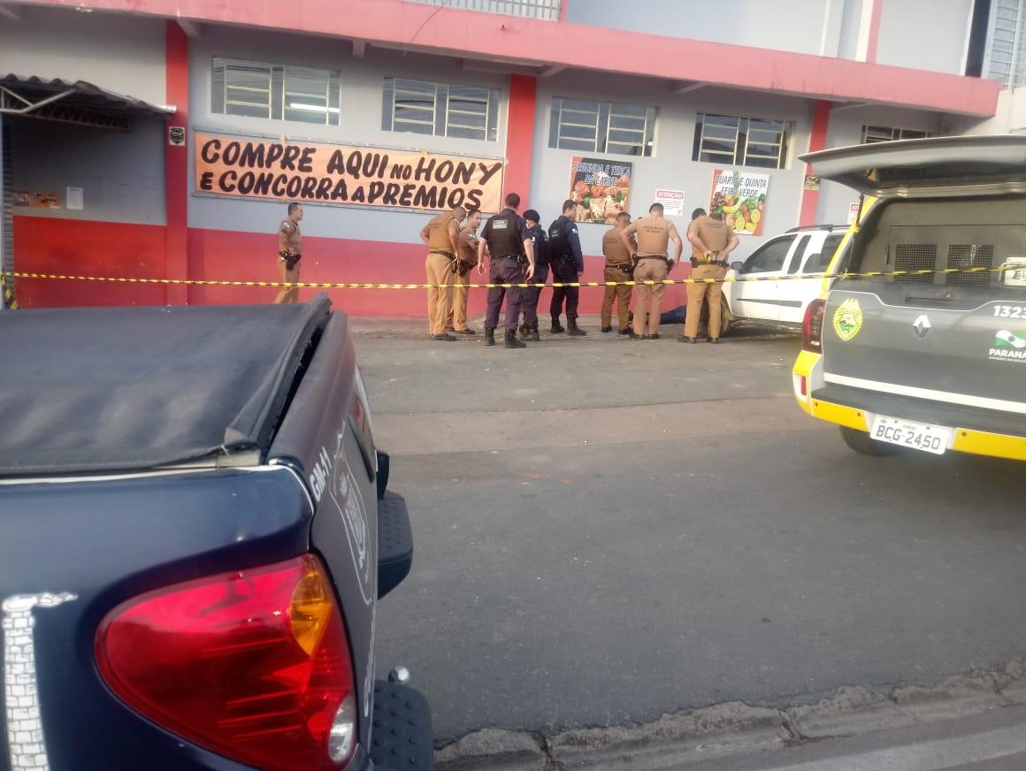 Caso aconteceu em Araucária, na região metropolitana de Curitiba. (Foto: colaboração)