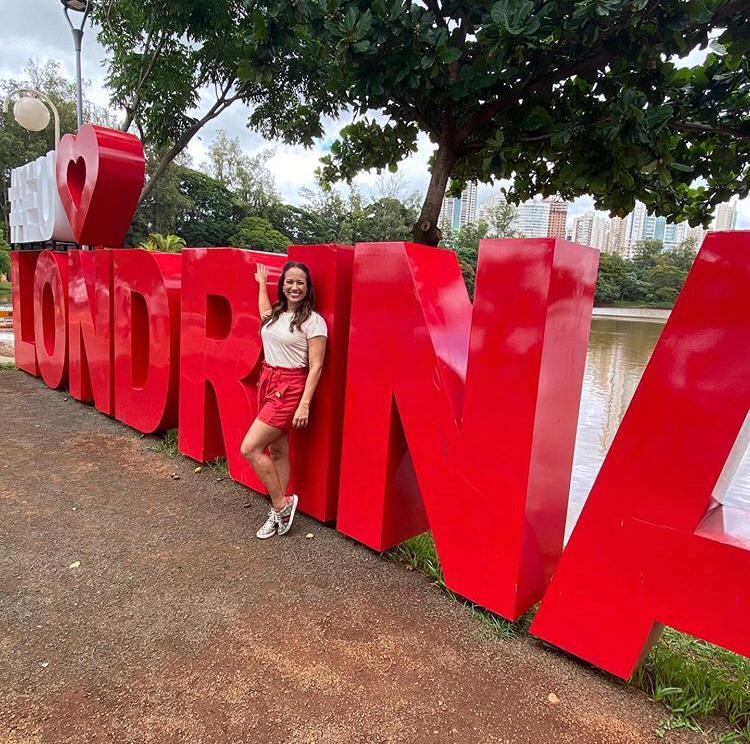 Renata Alves em Londrina