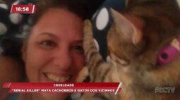 'Serial killer' mata cachorros e gatos dos vizinhos