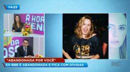 """""""Abandonada por você""""  Ana Paula Renault é abandonada e fica com dívidas"""