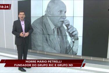 Morre Mário Petrelli: Fundador do Grupo RIC e do Grupo ND