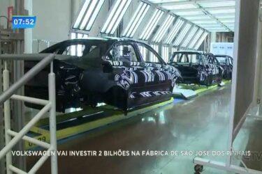 Volkswagen vai investir R$ 2 bilhões na fábrica de São José dos Pinhais