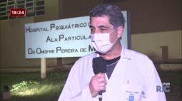 Mais casos de covid-19 são confirmados no hospital psiquiátrico