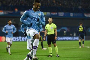 Com hat-trick de Gabriel Jesus, City goleia Dínamo de Zagreb pela Champions