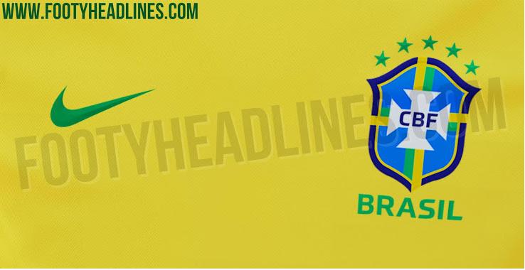 Site estrangeiro vaza foto da possível nova camiseta da Seleção Brasileira