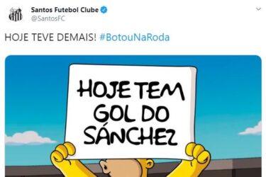 Santos publica provocações ao Flamengo após goleada na Vila Belmiro
