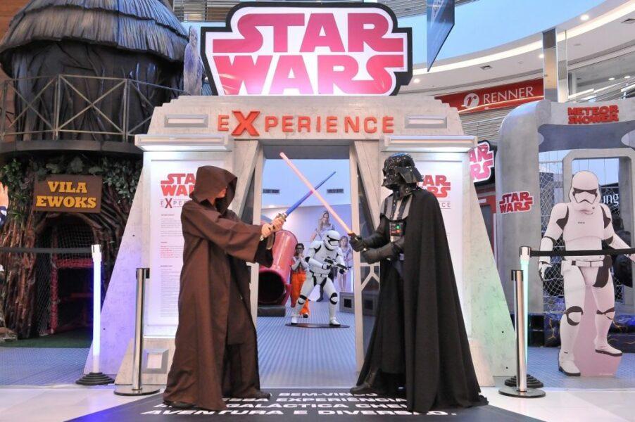 Evento Star Wars estreia no Shopping Estação