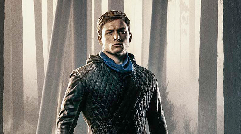 Taron Egerton estampa novo cartaz de 'Robin Hood – A Origem'