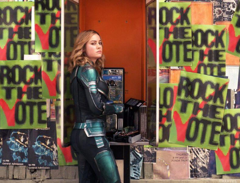 'Capitã Marvel': Brie Larsson divulga novas imagens