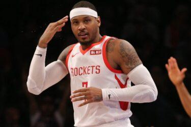 Carmelo Anthony assina com os Blazers e volta à NBA