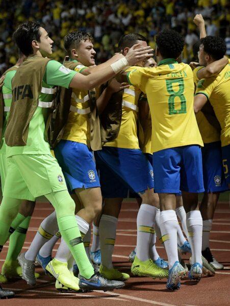 Brasil vence Itália e se classifica para a semifinal do Mundial Sub-17