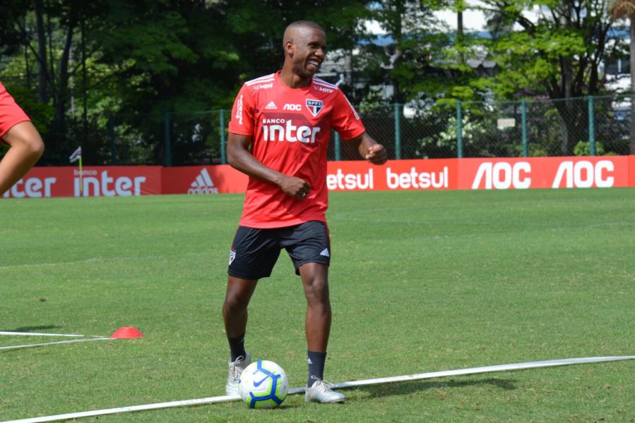 Confira fotos do último treino do São Paulo em 2019