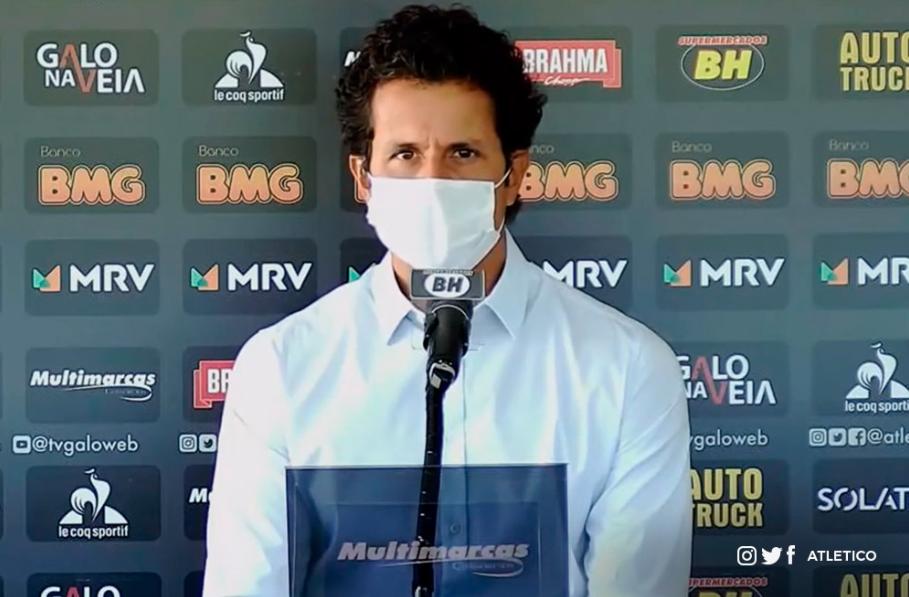 Médico do Atlético-MG fala sobre a abertura da sétima semana de treinos