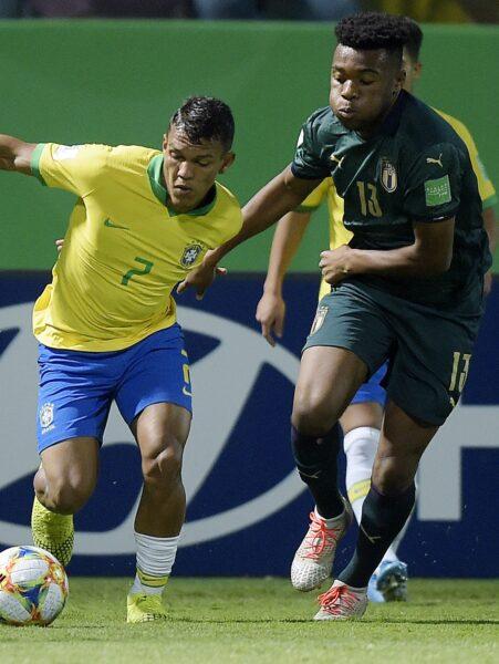 Confira fotos de Brasil x Itália pelo Mundial Sub-17