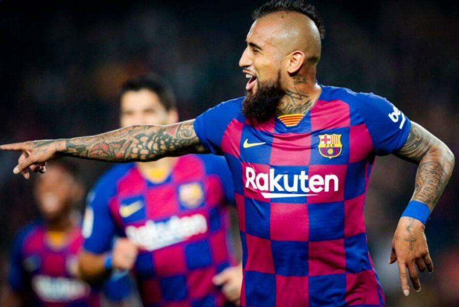 Arturo Vidal, do Barcelona, afirma que gostaria de jogar no Flamengo