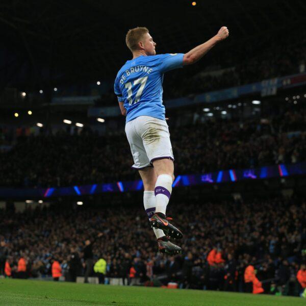 Veja imagens da vitória do City em cima do Sheffield United