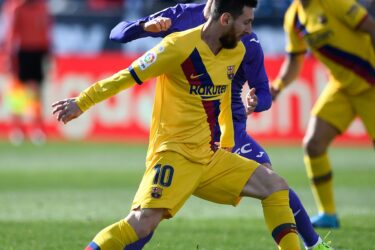 Imagens do confronto entre Barcelona e Leganés pelo Campeonato Espanhol