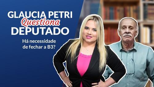 Live com Glaucia Petri e deputado federal Paulo Ramos autor da PL 1498/20