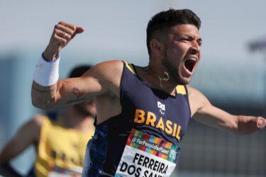 Com recorde de Petrúcio, Brasil fatura nove pódios no Mundial Paralímpico