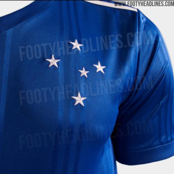 Vazam fotos do suposto uniforme do Cruzeiro para 2020