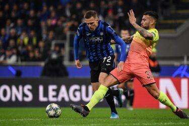 Confira as fotos de Atalanta e Manchester City pela Liga dos Campeões