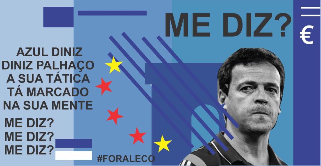 Organizada do São Paulo protesta contra Diniz, Pato e Dani Alves nas redes sociais