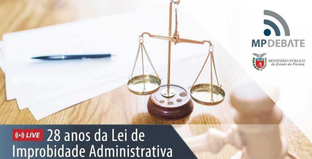 Lei de Improbidade Administrativa é tema de live nesta terça