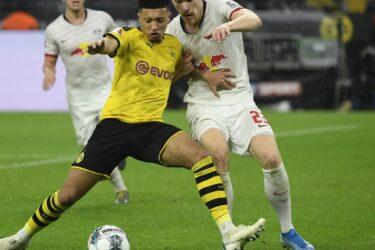 RB Leipzig reage, empata com Dortmund e segue na liderança do Alemão