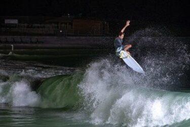 Estádio de surfe em Shizunami, no Japão, ficará pronto em 2020