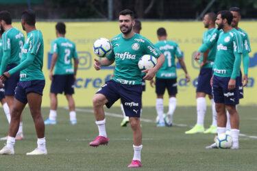 Com Dudu de volta, Palmeiras faz último treino para pegar o Vasco