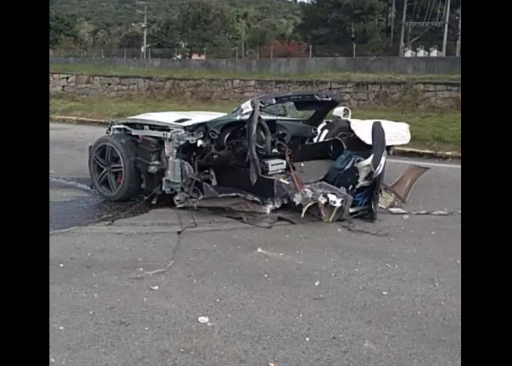 Alta velocidade e ondulação na pista podem ter sido fatores que causaram acidente que vitimou Roberto Angeloni
