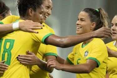 Seleção Brasileira feminina goleia México em amistoso na Arena Corinthians