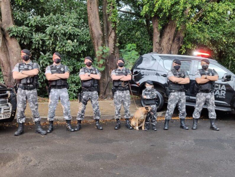Pequena Jordana ganha festa de aniversário com tema K9 e visita surpresa de policiais