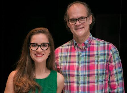 Ana Cristina Avila e Leôncio Pedrosa representam Brasil em encontro de cores
