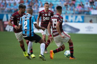 Fotos de Grêmio x Flamengo pelo Brasileirão