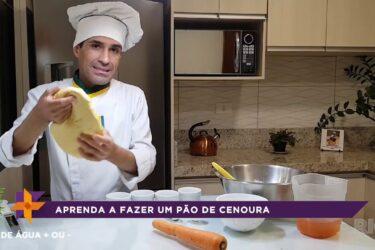 Aprenda a fazer um pão de cenoura