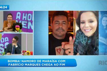 Namoro de Maraísa com Fabrício Marques chega ao fim