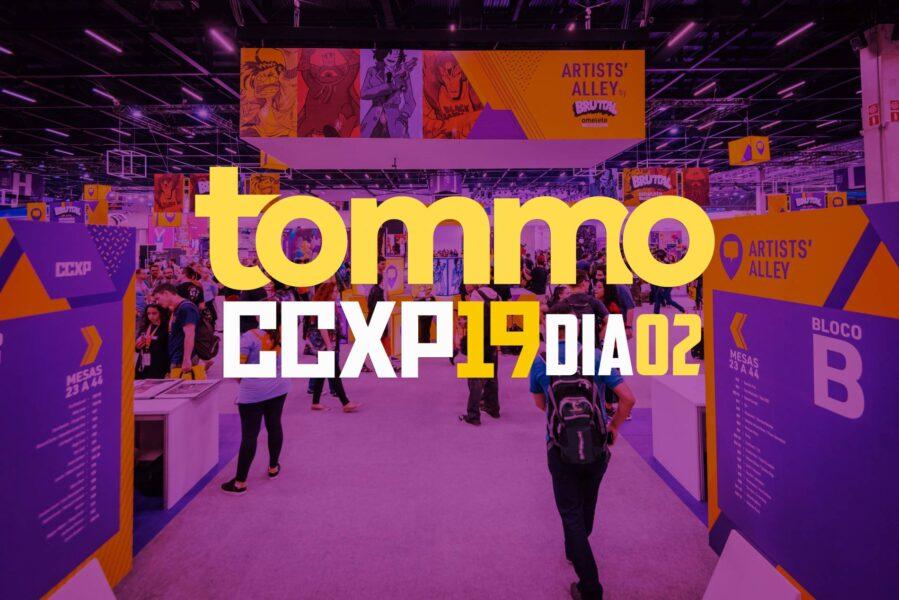Segundo dia da CCXP 2019