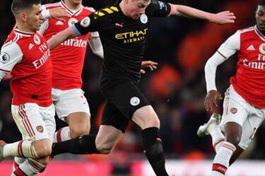 Veja fotos do confronto entre Arsenal e Manchester City