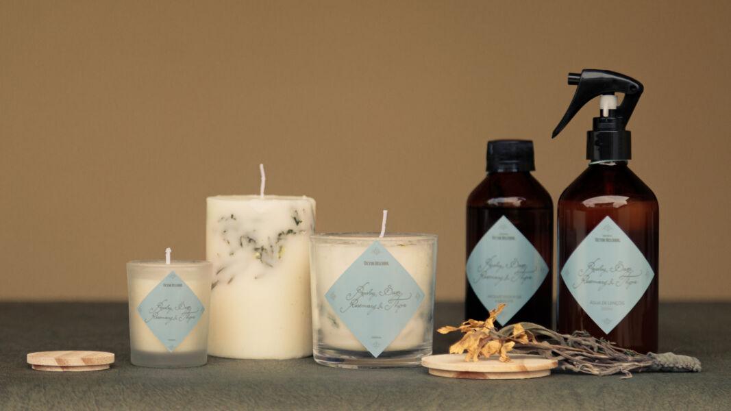 Marca brasileira lança linha de velas e aromas para casa com fragrância exclusiva inspirada em canção de amor inglesa