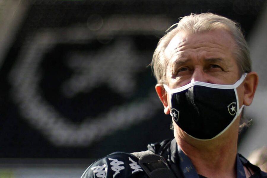 Renê Weber destaca intensidade do Botafogo na goleada