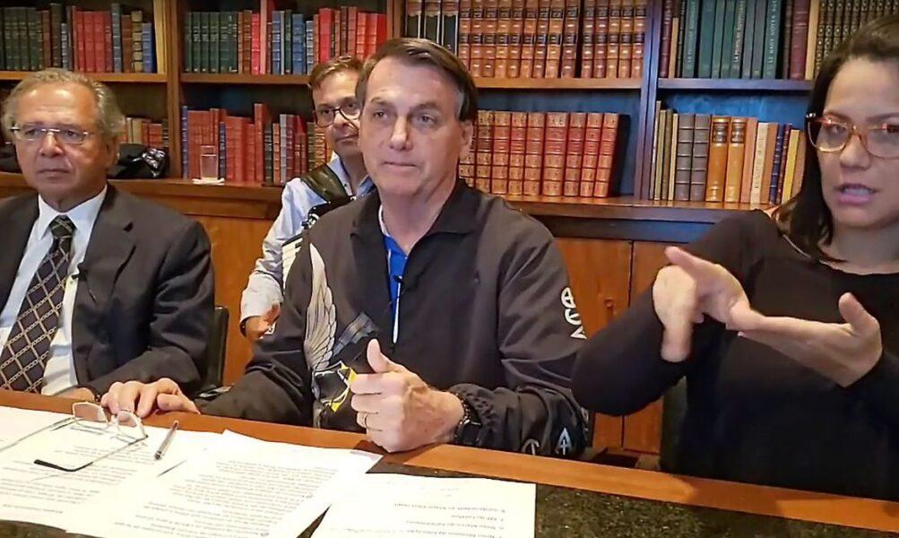 Bolsonaro diz que auxílio emergencial deve ter três novas parcelas