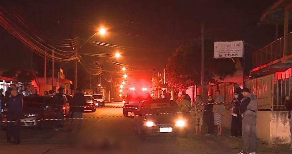Briga doméstica em São José dos Pinhais termina com um morto e irmão esfaqueado