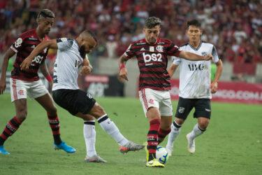 Confira as fotos da partida entre Flamengo e Ceará