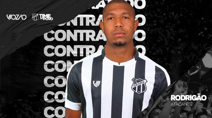 Santos empresta centroavante Rodrigão ao Ceará