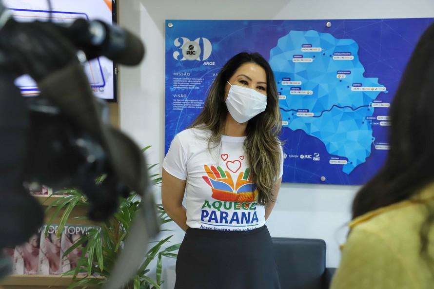 Veja o passo a passo de como doar na campanha do agasalho Aquece Paraná 2020