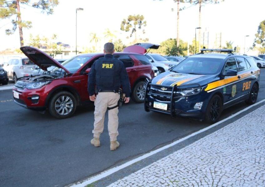 PRF recupera em Curitiba veículo de luxo roubado no Rio de Janeiro em 2019