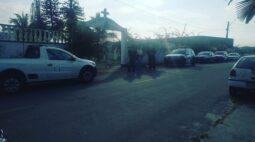 Sepultura é violada durante a madrugada no Cemitério Municipal de Matinhos